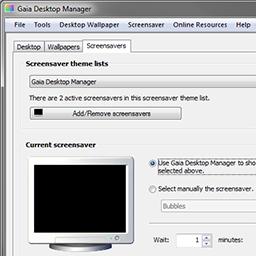 Gaia Desktop Manager 1.00 bêta 5 lancé