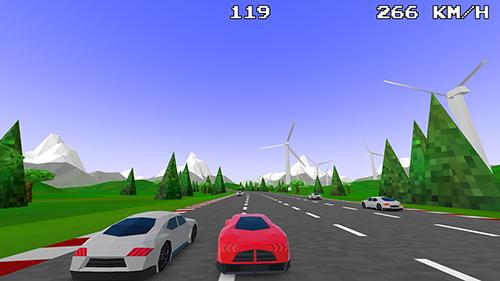 Gaia Green Racing, conduite avec le trafic